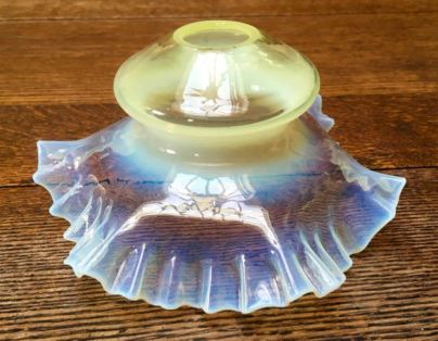 Vaseline Glass Shade Price SOLD