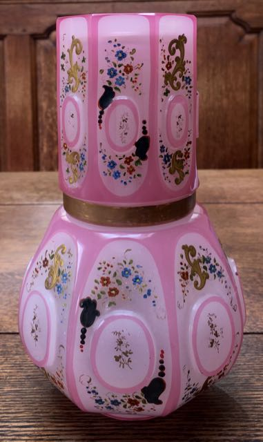 Pink Opaline Alabaster Glass 1