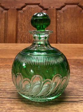 Stevens and Williams Perfume Bottle Height 16cm Price £220