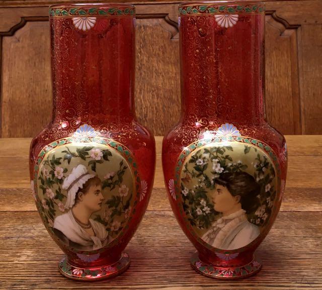 Bohemian Glass Janice Crockett Antiques